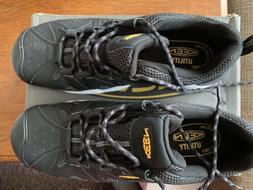 KEEN Utility Men's San Antonio Industrial Boots Black/Steel
