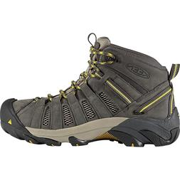KEEN Voyageur Mid Hiking Boot - Men's Raven/Tawny Olive, 9.0