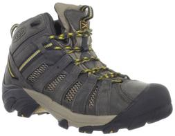 KEEN Voyageur Mid Hiking Boot - Men's Raven/Tawny Olive, 13.