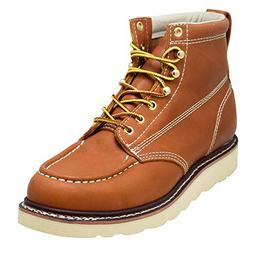 "EVER BOOTS ""Weldor Men's Moc Toe Construction Work Boots Wed"