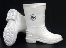 Marlin White Rubber Boots Size: 12