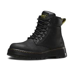 Dr. Martens Men's Winch Work Boots, Black Leather, 10 M UK,