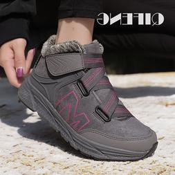 Winter Hiking <font><b>Boots</b></font> Women <font><b>Slip<