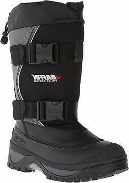 Baffin Men's Wolf Snow Boot,Black/Pewter,9 M US