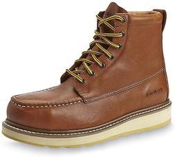 DieHard Work Boot Men's 6'' Soft Toe Wedge Boots for Constru