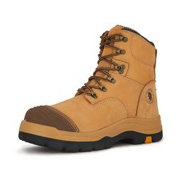 ROCKROOSTER Mens Work Boots Steel Toe Safety Shoes for Const