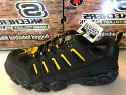Skechers for Work Men's Blais Steel-Toe Hiking Shoe 77051 Bl