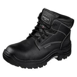 Skechers for Work Men's Holdredge Work Shoe, Black, 9 M US