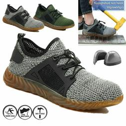 Work Safety Mens Steel Toe Cap Boots Industrial Construction