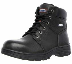 Skechers Mens Work Relaxed Fit Workshire ST Memory Foam Stee