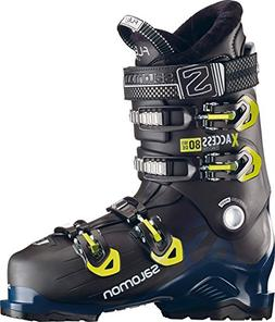 Salomon X-Access 80 Wide Ski Boots 2019-29.5/Black-Petrol Bl