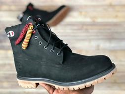 Timberland x Champion 6 Inch Premium Boots Black Grey Men's